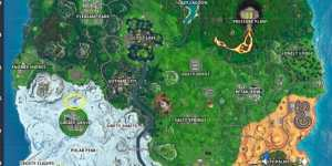 Fortnite: Dónde están las diferentes dianas