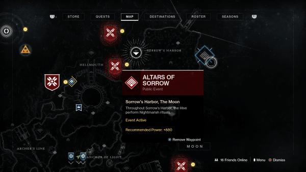 Destiny 2 shadowkeep Cómo comenzar la nueva mazmorra