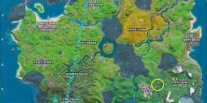 Fortnite: Dónde encontrar la letra F - Desafíos del Nuevo Mundo