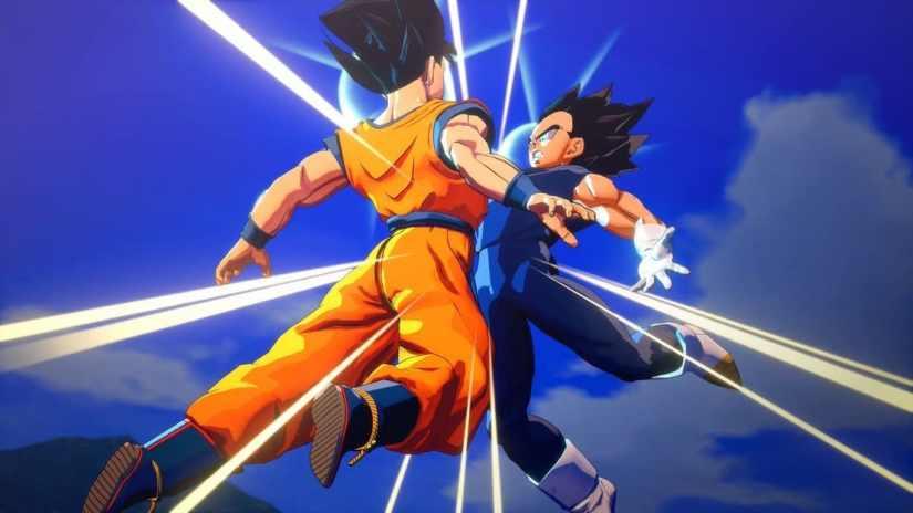 Fusión Goku y Vegeta