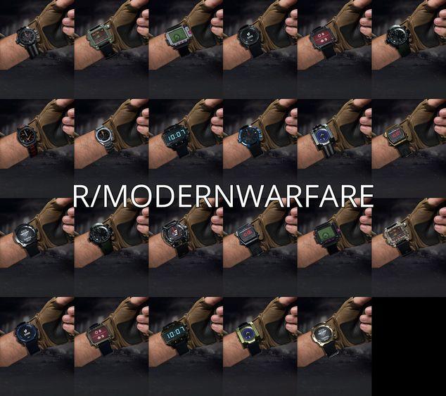 Todos los relojes conocidos que llegan a Modern Warfare