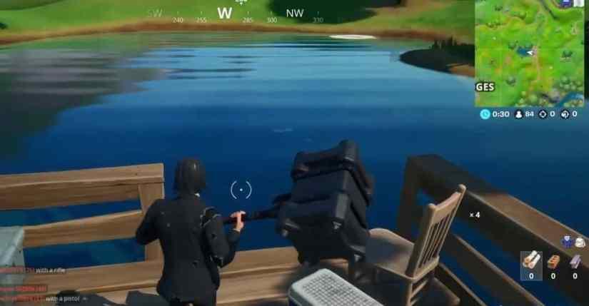 Ubicación Estanque de Pescaos