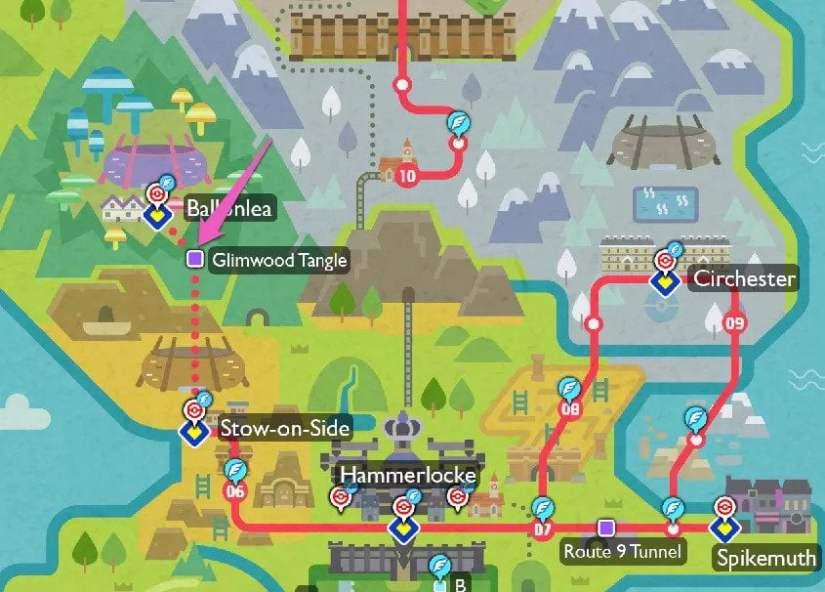 pokemon espada y escudo Ubicación de Galarian Ponyta y Rapidash