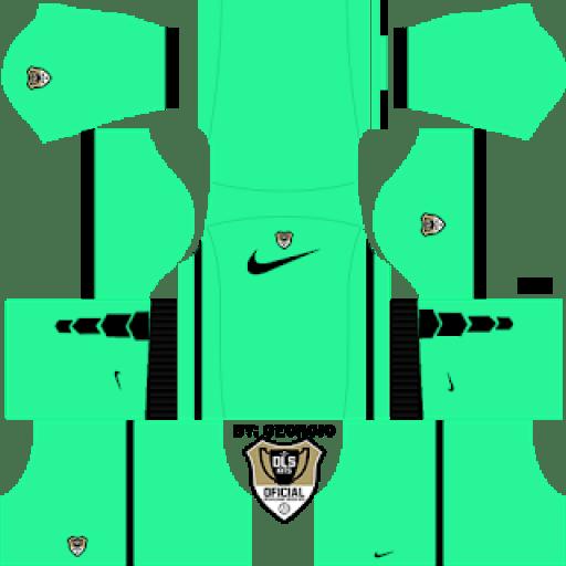 Equipación local Nike de portero - Equipaciones Dream League Soccer