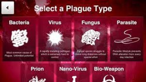 videojuego tipos de plagas