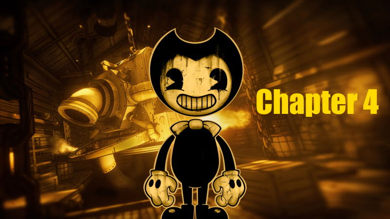 Bendy And The Ink Machine Chapter 4 - Full Walkthrough