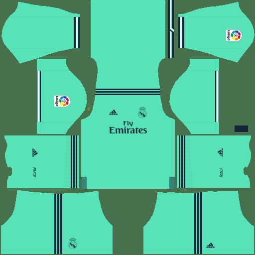 kit Real Madrid alternative – Kits de Dream League Soccer