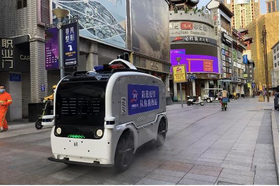 Autos autónomos en China