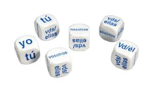 dados para trabajar los verbos españoles