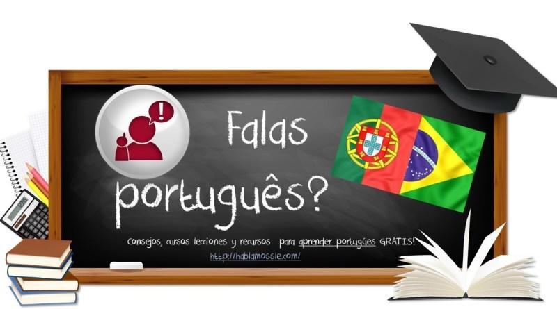 Recursos GRATIS para aprender PORTUGUÉS