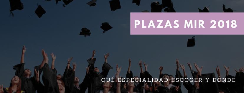 Plazas MIR 2018
