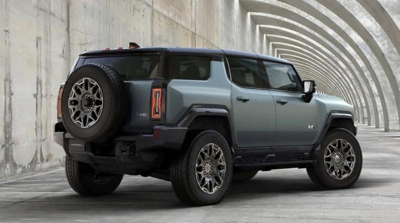 Hummer SUV Eléctrica que se maneja en Diagonal