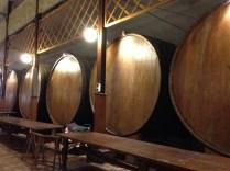 Barrels and barrels of sidra.