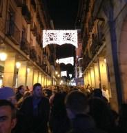 Leaving Plaza Mayor.