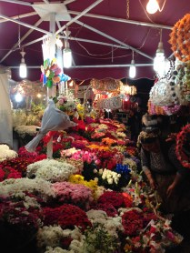 Flowers near Taksim Square