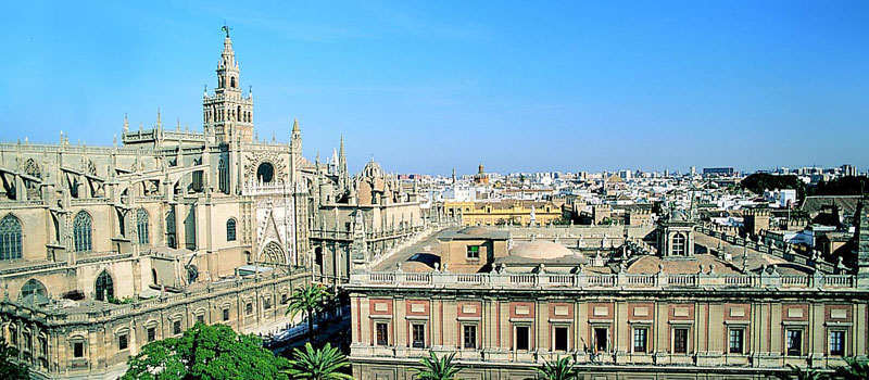 view of seville spain