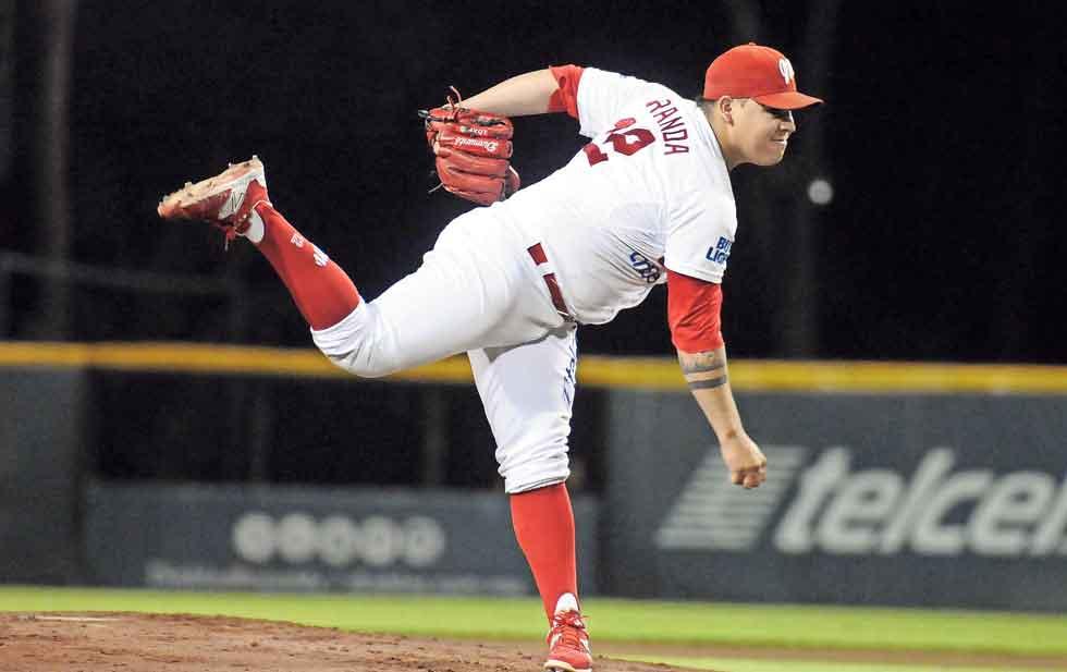 Llega a Indios el pitcher sonorense Luis Fernando Miranda