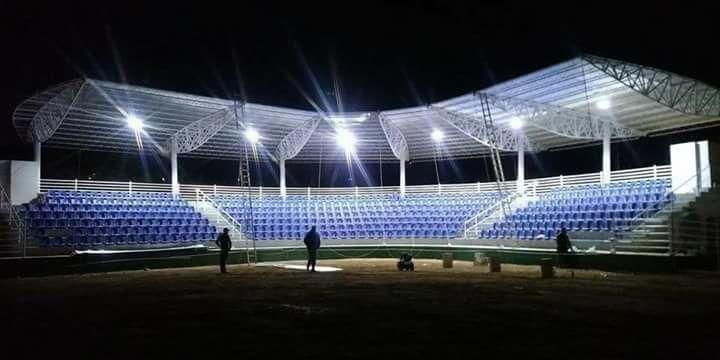 Inauguran estadio infantil Armando Guereca en Santa Barbara