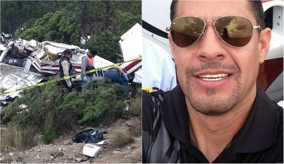 "Fallecio en accidente aéreo el Alfonso ""Houston"" Jiménez"