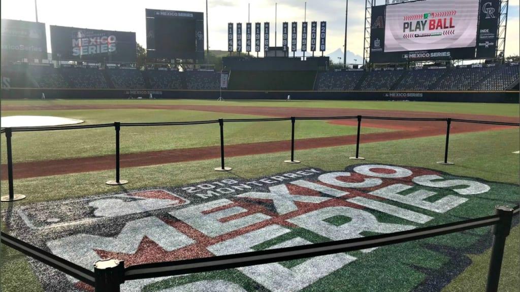 Listos diamantes y Rockies para el México Series hoy en Monterrey