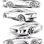 Sketch, Car_sketch, Bocetos_de_coches