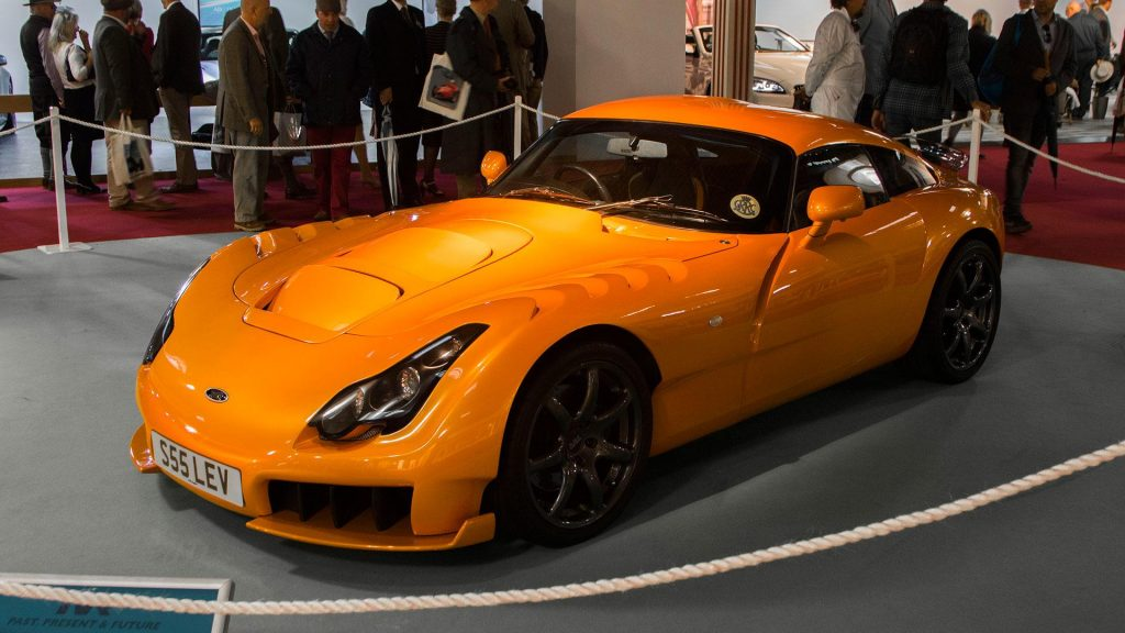 TVR, TVR_history; Historia_TVR; TVR_Griffith