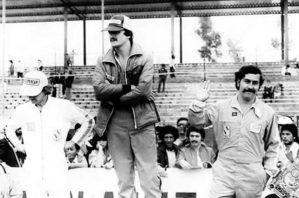 Cuando Pablo Escobar iba con pilotos en vez de narcos