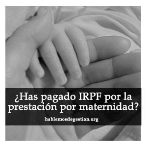 prestacion-maternidad-irpf