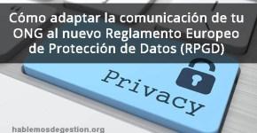 Reglamento general de proteccion de datos (rpg)