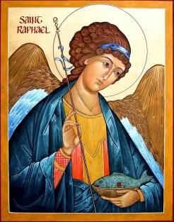 Resultado de imagen de san rafael el arcangel que une a los esposos