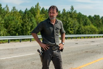 Andrew Lincoln as Rick Grimes- The Walking Dead _ Season 7, Episode 9 - Photo Credit: Gene Page/AMC
