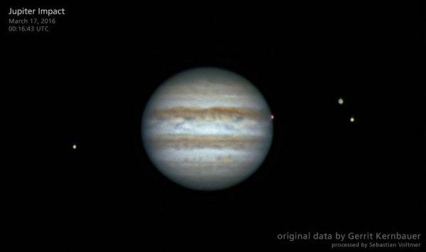 Спросите Итана: почему с Юпитером сталкивается так много объектов?