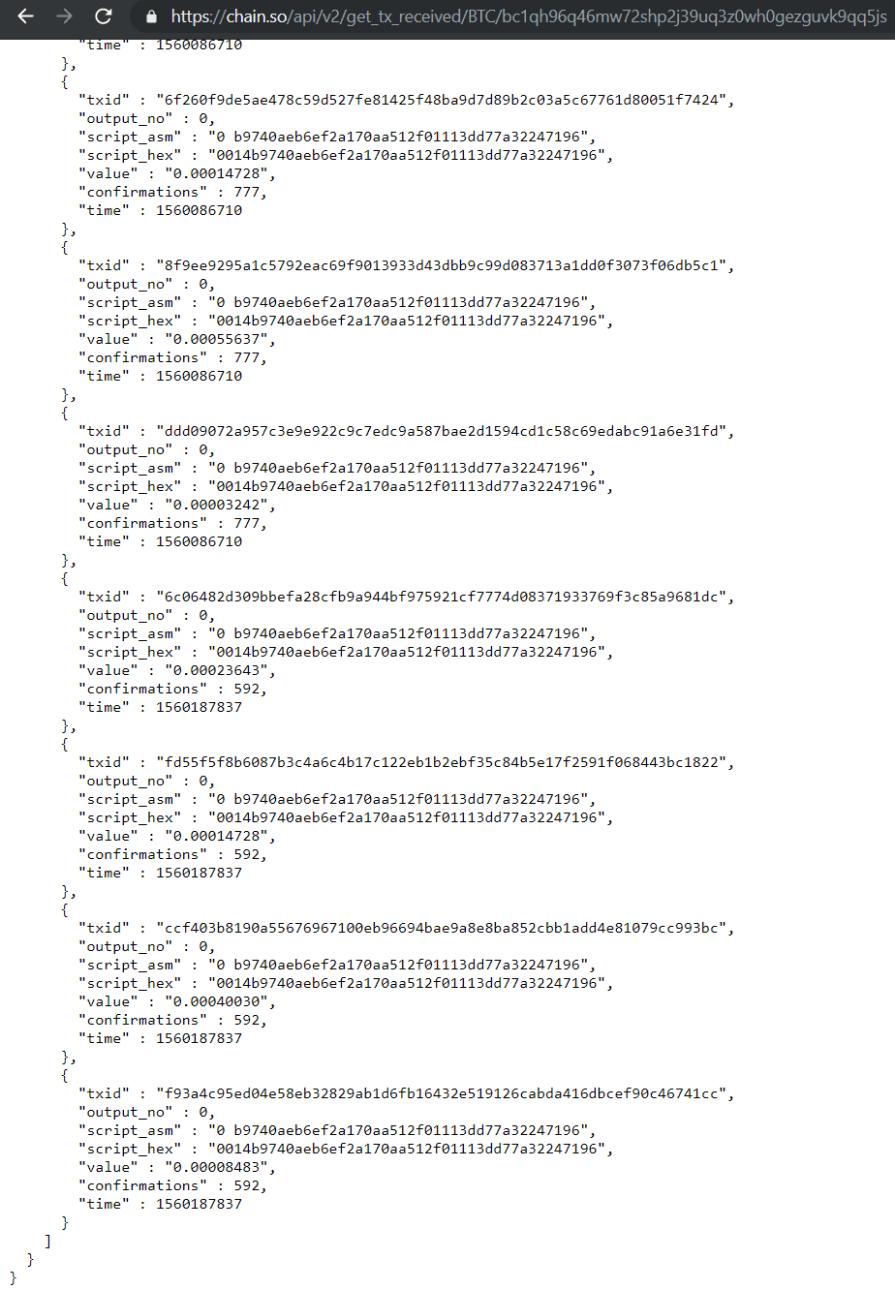 6wx3tf7 wsljmvslwhb5hhrmpde - Follow the money: как группировка RTM стала прятать адреса C&C-северов в криптокошельке