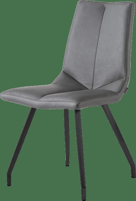 artella chaise noir 4 pieds tatra anthracite