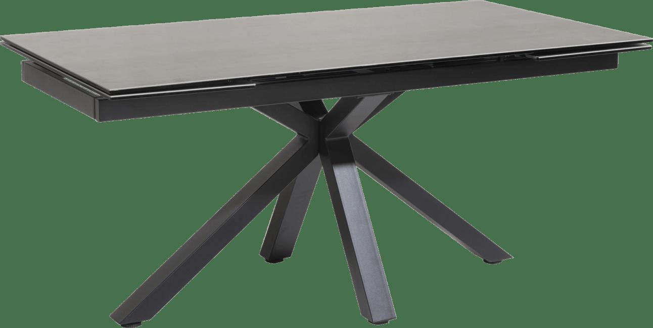multi table a rallonge 170 2x40 x 90 cm
