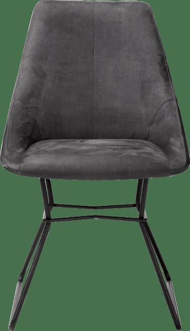 aiden chaise pieds poudres noir combinaison calabria tatra