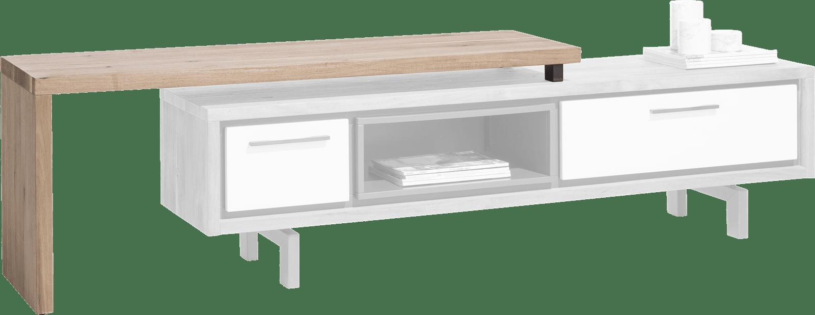 otta meuble tv avec plateau pivotante