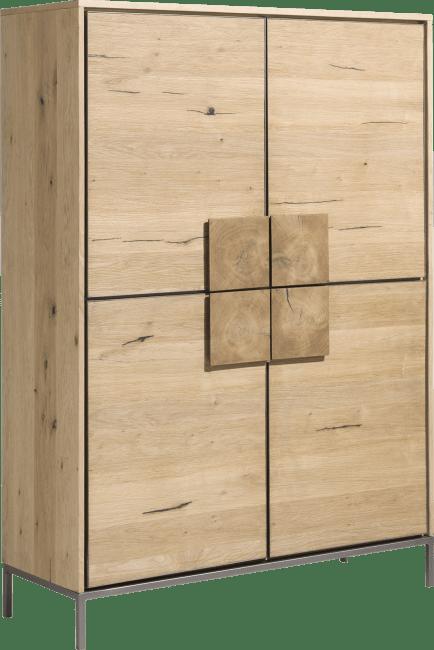 armoire 4 portes largeur 120 cm faneur