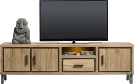 meubles tv en bois de style scandinave