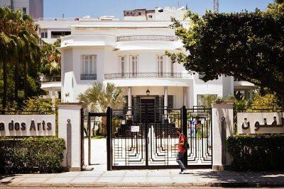 Picture of the Villa des arts building.