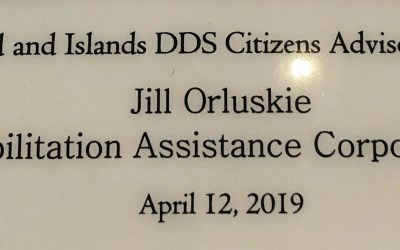 Jill Honored at DDS Recognition Breakfast