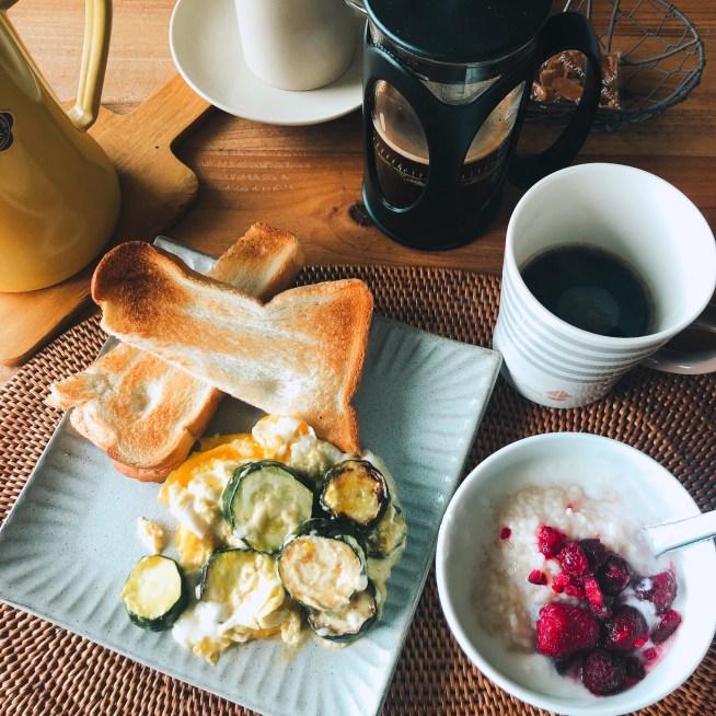 かんたん菌活朝食