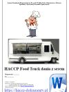 HACCP Food Truck dania z serem