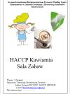 HACCP Sala Zabaw Kawiarnia
