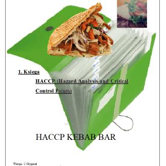 HACCP KEBAB BAR z Piwem