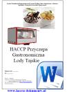 HACCP GMP/GHP Przyczepa Gastronomiczna Lody Tajskie