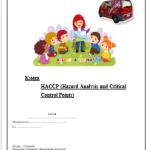 HACCP GHP/GMP Przedszkole