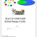 HACCP GMP/GHP Kebab Burger Frytki