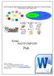 HACCP GMP/GHP Pub