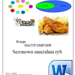 HACCP GMP/GHP Sezonowa smażalnia ryb